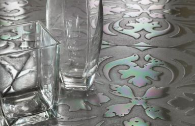 Crystal FIORE#1 – Agata Grigia Multicolor